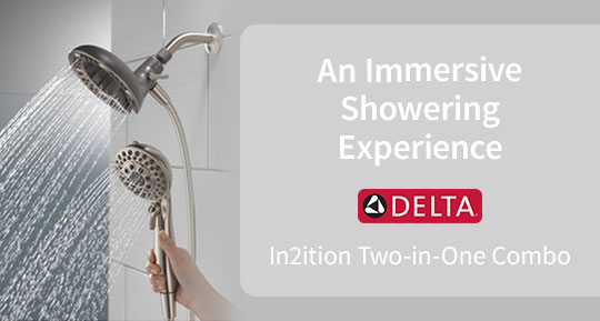 Delta Two-in-One Showerhead