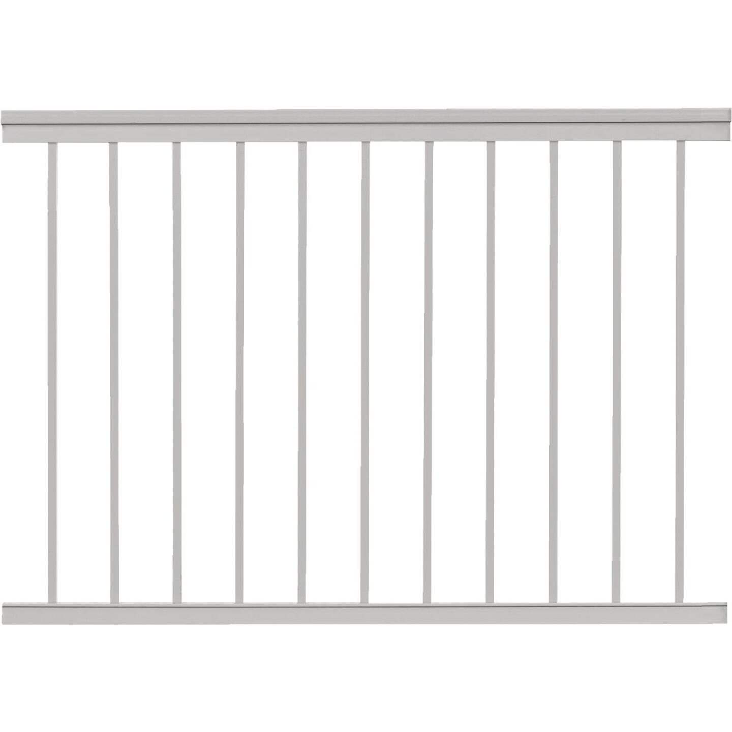 Gilpin Summit 36 In. H. x 4 Ft. L. White Aluminum Railing Image 1