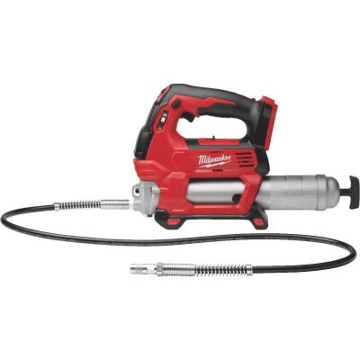 Milwaukee M18 18 Volt Lithium-Ion 2-Speed Cordless Grease Gun (Bare Tool)