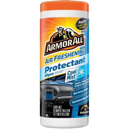Armor All Cool Mist Scent Air Freshening Protectant Wipe (25- Count)