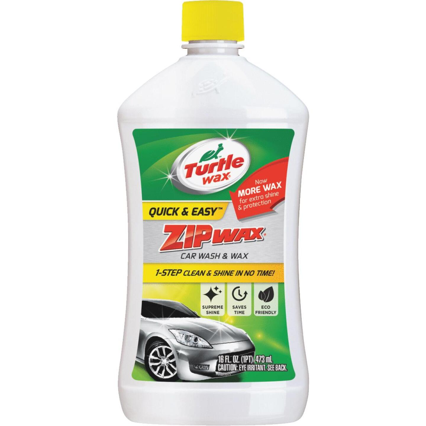 Turtle Wax Zip Wax 16 Oz. Liquid Car Wash & Wax Image 1