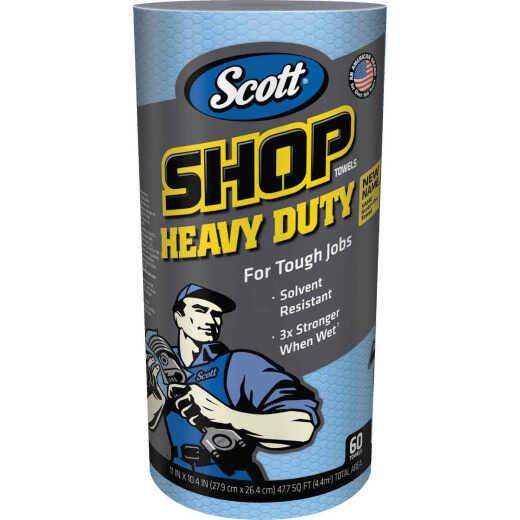 Scott Pro 11 In. W x 10.4 In. L Disposable Heavy-Duty Shop Towel (60-Count)