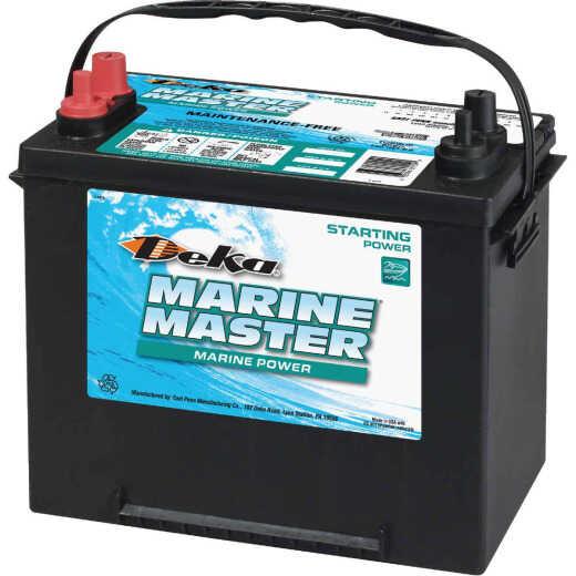 Deka Marine Master 12-Volt 550 CCA Starting Marine/RV Battery, Left Front Positive Terminal