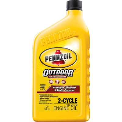 Pennzoil 1 Qt. Outboard/Multi-Purpose 2-Cycle Motor Oil