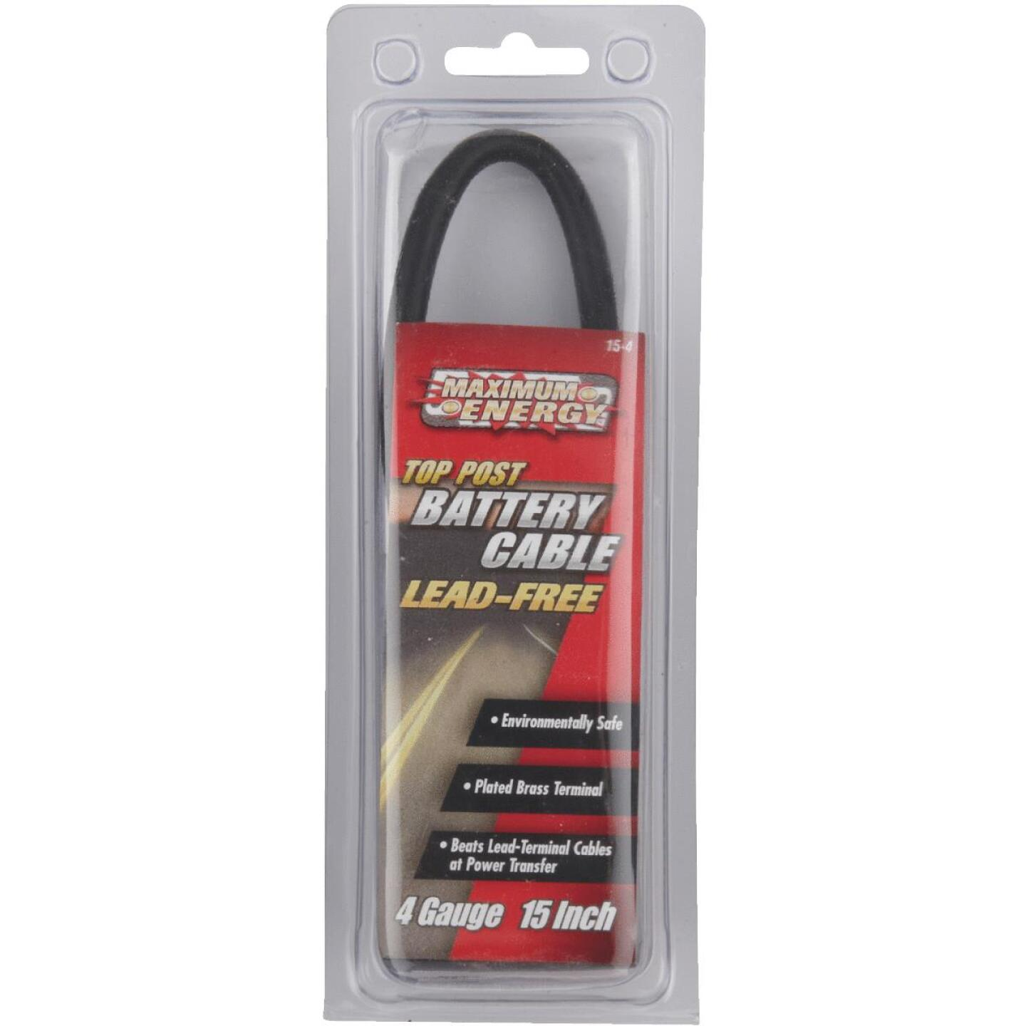 Road Power 15 In. 4 Gauge Top Post Battery Cable Image 2