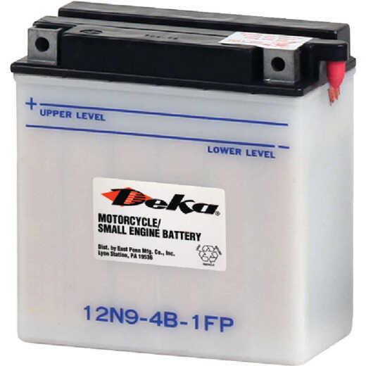 Deka 12-Volt 85 CCA Powersport Battery, Left Front Positive Terminal