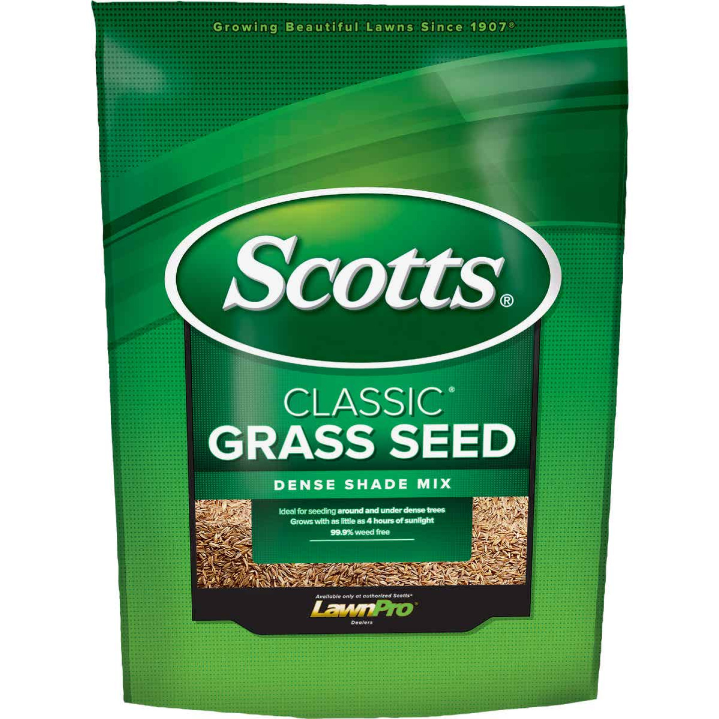 Scotts Classic 3 Lb. 650 Sq. Ft. Coverage Dense Shade Grass Seed Image 1