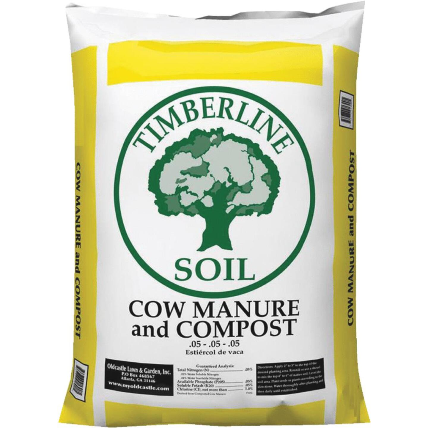 Timberline 40 Lb. Compost and Cow Manure Image 1
