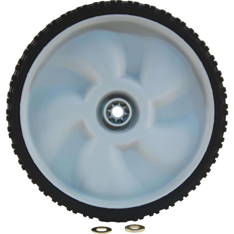 Arnold 11 In. Plastic Universal Mower Wheel Image 1