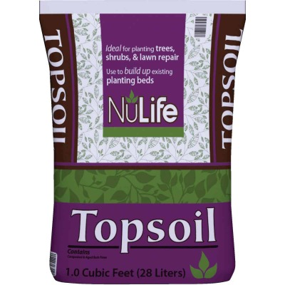 NuLife 1 Cu. Ft. 36 Lb. All Purpose Top Soil