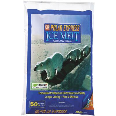 Qik Joe Polar Express 50 Lb. Ice Melt Pellets
