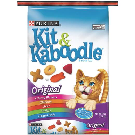 Purina Kit & Kaboodle Complete Balance 16 Lb. Adult Cat Food