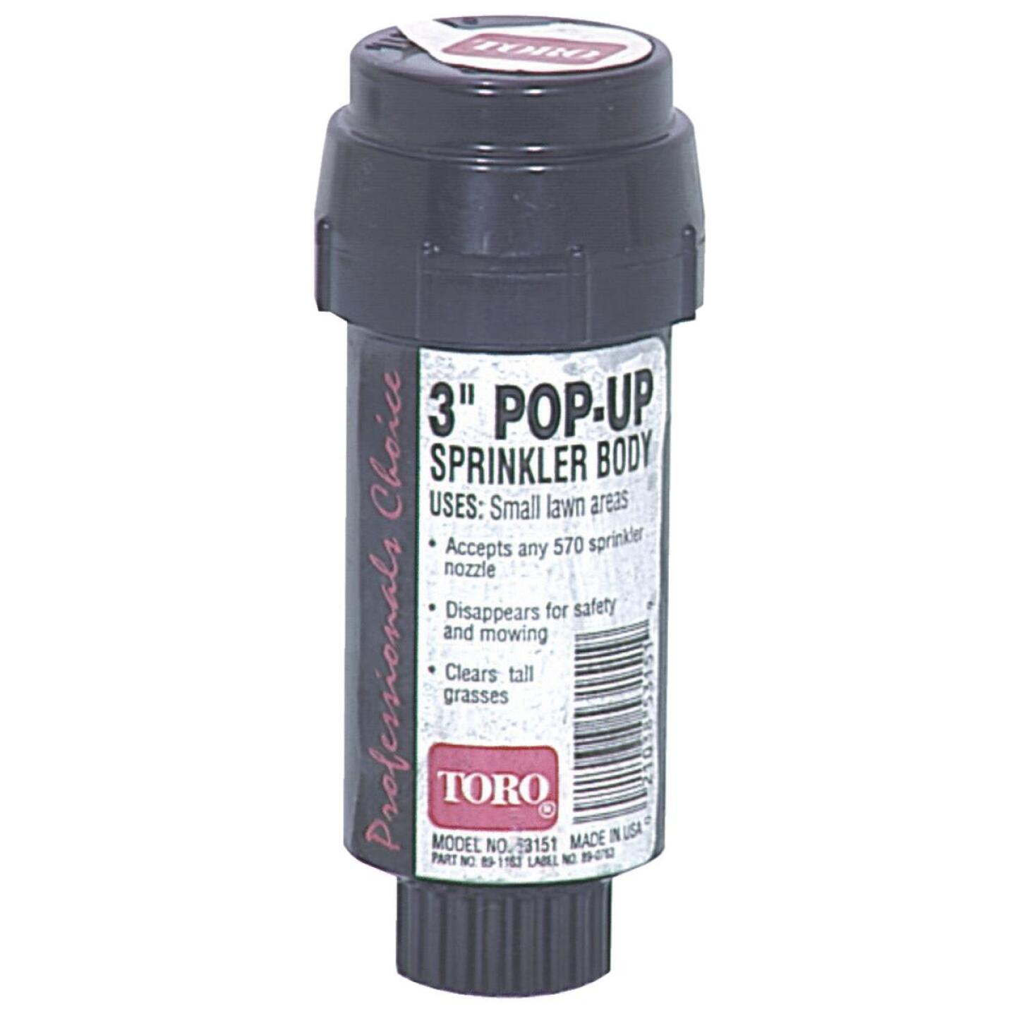 Toro 3 In. Pop-Up Head Sprinkler Body Image 1