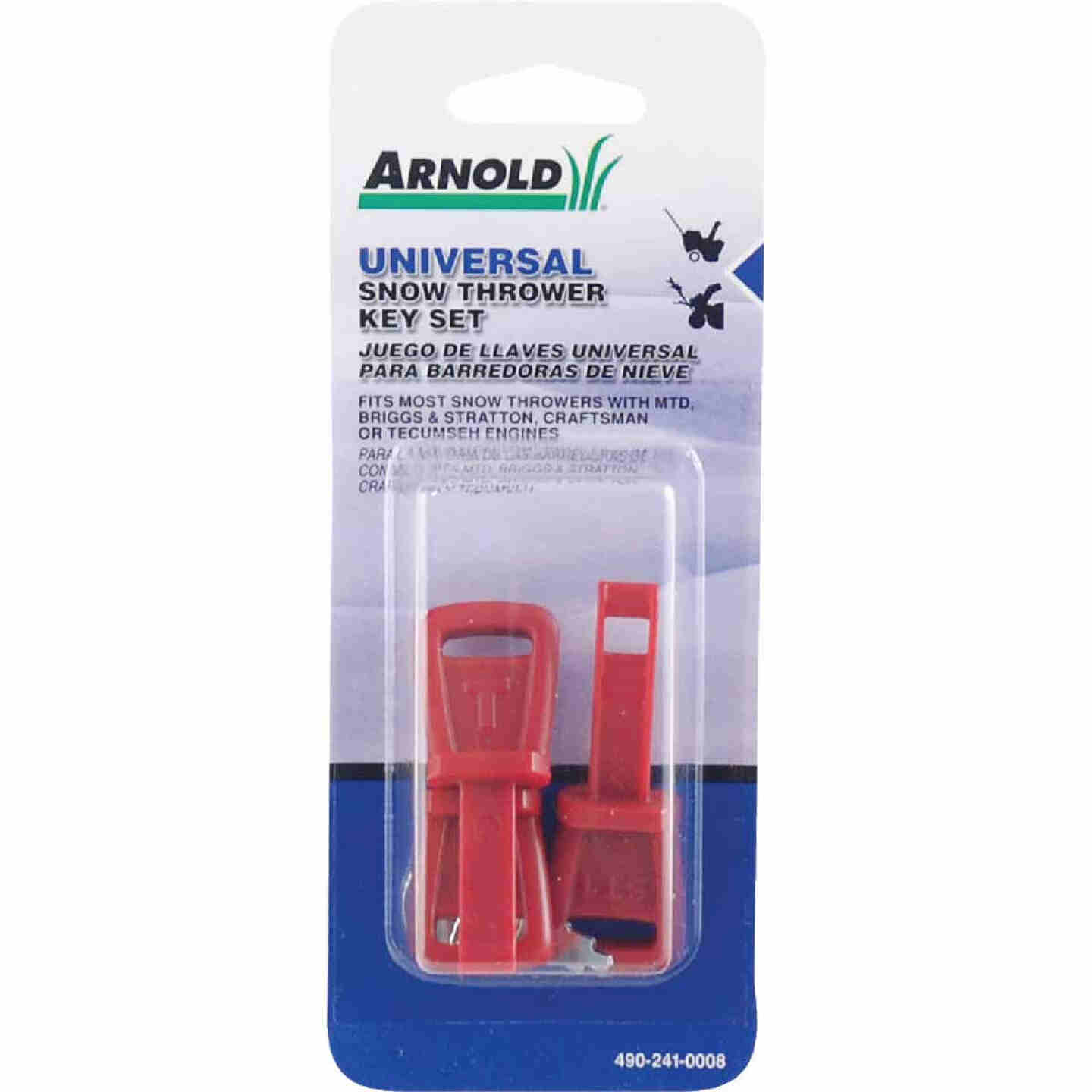Arnold Universal Snow Blower Key Set (4-Piece) Image 1