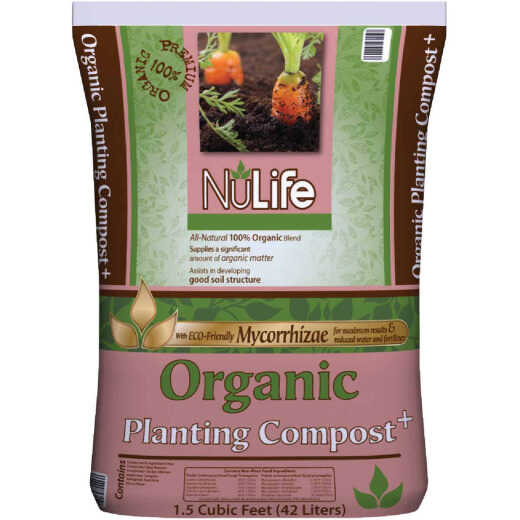 NuLife 1.5 Cu. Ft. 52 Lb. Organic Lawn & Garden Compost