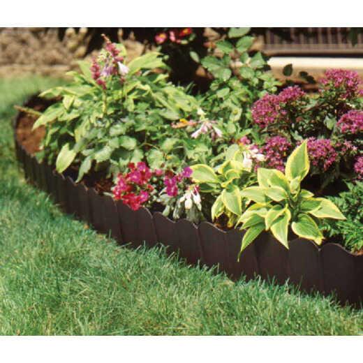 Suncast Eco Edge 6 In. H. x 20 Ft. L. Black Vinyl Lawn Edging