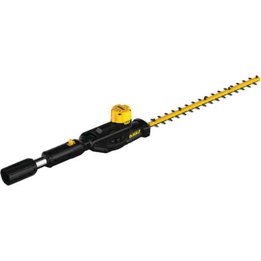 DeWalt 22 In. Cordless Pole Hedge Trimmer Head w/20V MAX Compatibility