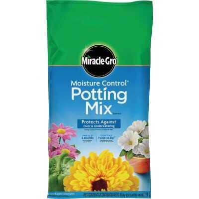 Miracle-Gro Moisture Control 16 Qt. 13 Lb. Indoor & Outdoor Potting Soil
