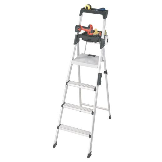 COSCO Signature Series 6 Ft. Aluminum Step Ladder with 300 Lb. Load Capacity Type IA Ladder Rating