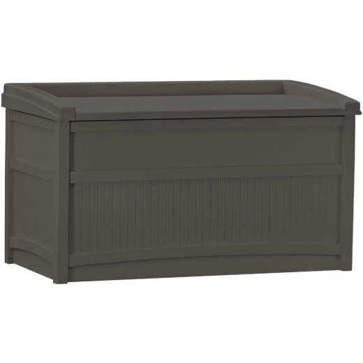 Suncast 50 Gal. Resin Java Deck Box with Seat